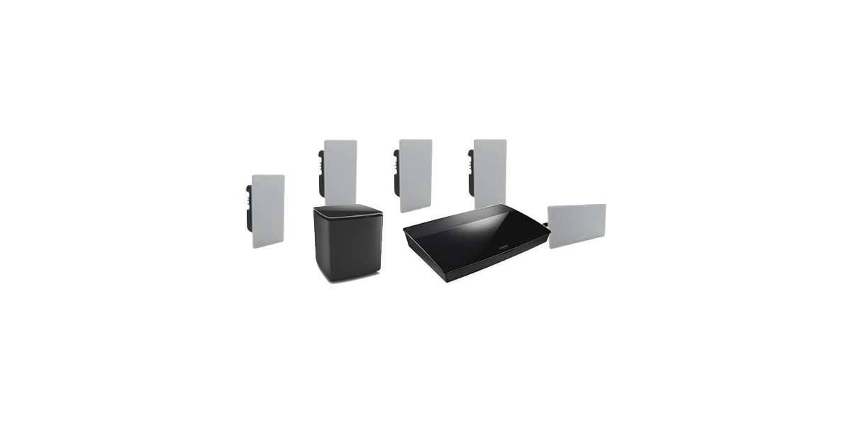 Bose lifestyle 600 in-wall noir