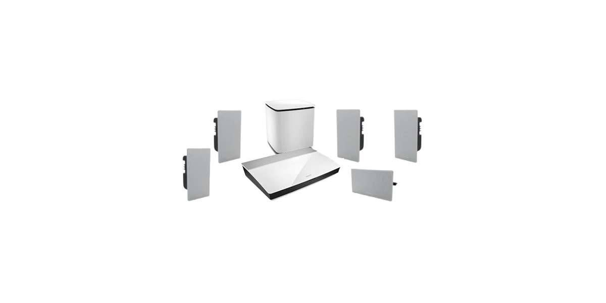 Bose lifestyle 600 in-wall blanc