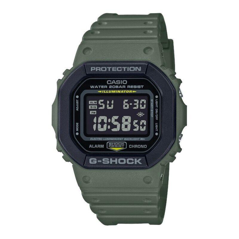Casio G-Shock Montre Homme Résine Kaki DW-5610SU-3ER