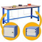 rolleco  Rolleco Etabli d'atelier charges lourdes avec bloc tiroirs... par LeGuide.com Publicité