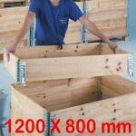 rolleco  Rolleco Rehausse pour Palettes en bois P 800 mm Transformez vos... par LeGuide.com Publicité