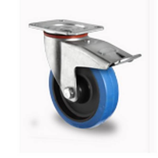 Rolléco Kit freins sur roulettes rolls Ajout d'un frein sur les 2 roues pivotantes