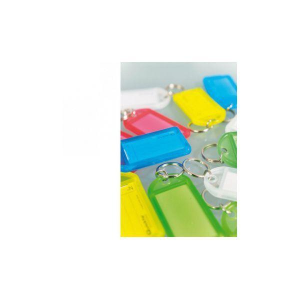 Rolléco Porte-clés plastique Lot de 25