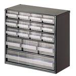 setam  SETAM Bloc rangement avec 16 tiroirs en plastique transparent Classeur... par LeGuide.com Publicité