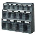 setam  SETAM Bloc tiroir avec 15 tiroirs basculants plastique Hauteur 500... par LeGuide.com Publicité