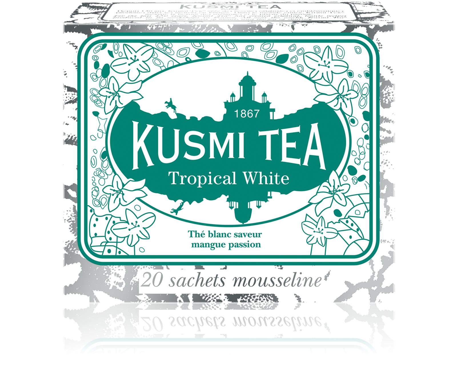 KUSMI TEA Tropical White  Thé Blanc Kusmi Tea