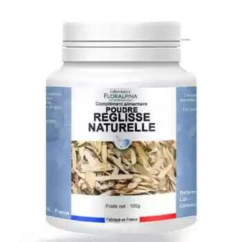 Laboratoire Floralpina Réglisse naturelle poudre 100 g