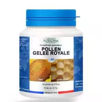 Floralpina Gelée royale, pollen 60 gélules