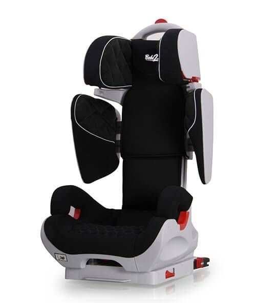 bebe2luxe SiŠge Auto Safe Robot Noir Iso-Fix inclinable de 3 ans … 10 ans - (SPS)