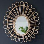 Casatera Miroir ovale en rotin Maya Moka Dans l'univers naturel... par LeGuide.com Publicité