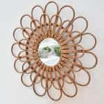 Casatera Miroir en rotin Daisy Moka Ce magnifique miroir en forme de... par LeGuide.com Publicité