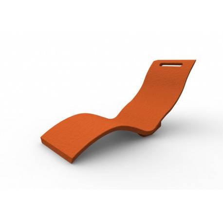 Arkema Design Serendipity - Chaise longue orange (S010/2009)