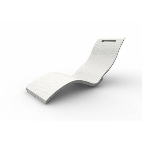 Arkema Design Serendipity - Chaise longue blanche (S010/9003)