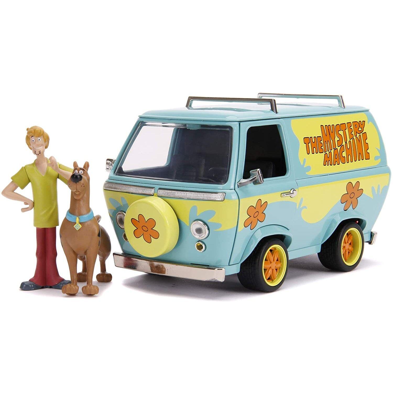 Simba Jada by Simba Scooby-Doo Mystery Machine Game Set avec Scooby et Shaggy