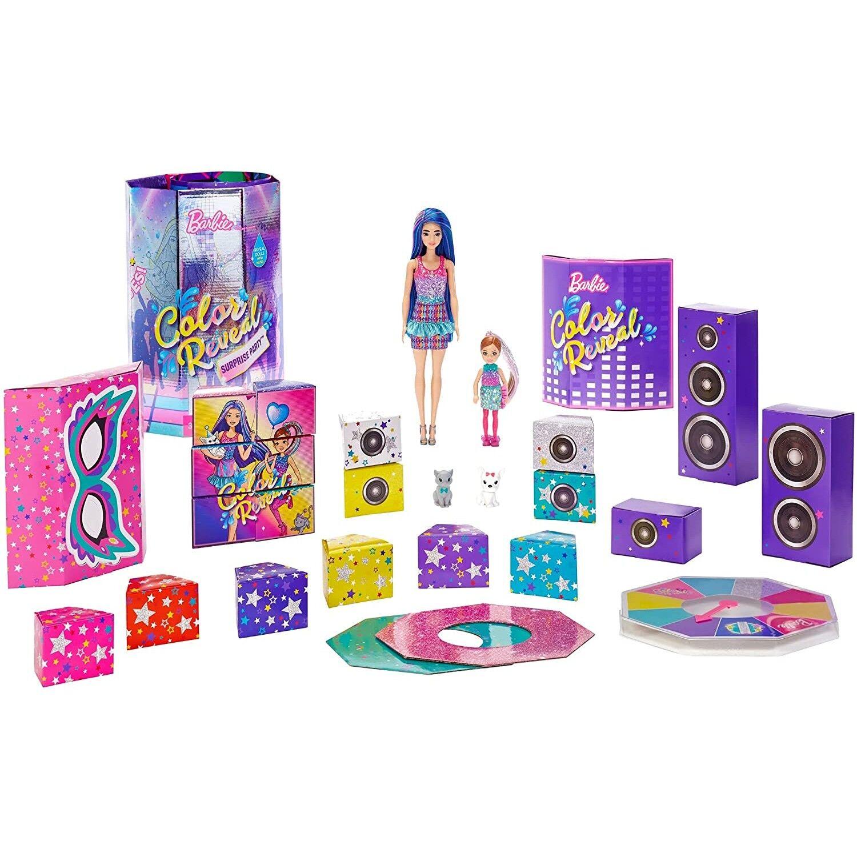Barbie Surprise Barbie Doll Color Reveal Surprise Party
