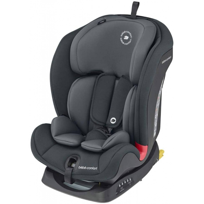 Bébé Confort Titan Siège Auto Groupe 1/2/3, ISOFIX Basic Grey