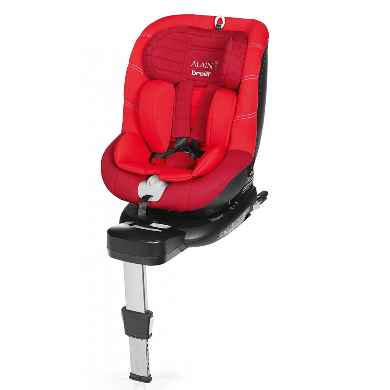 Brevi Siège Auto Brevi Alain i-Size de 40 à 105 cm Isofix Rouge