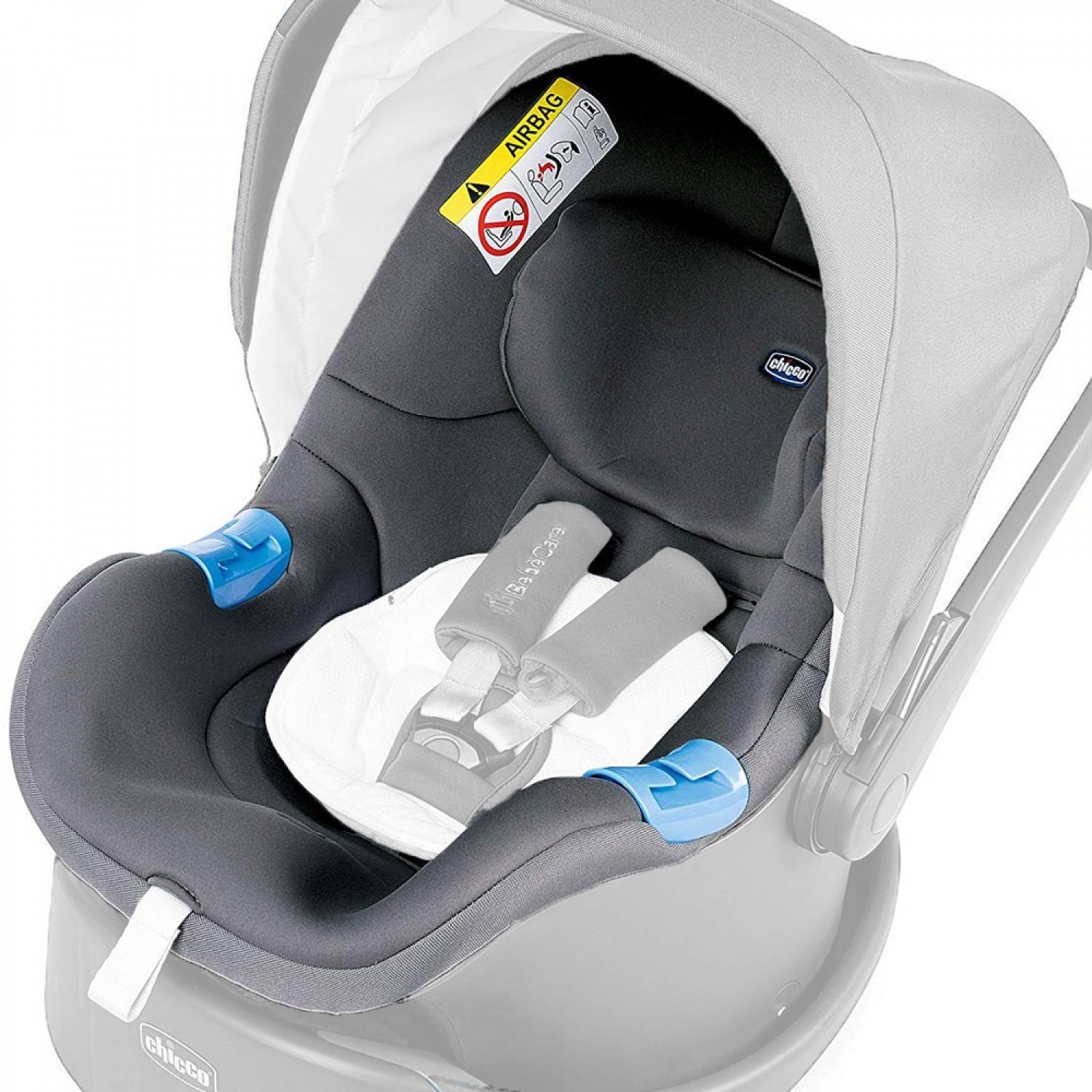 Chicco Housse pour siège auto Chicco Oasys 0+ Up Cool Grey