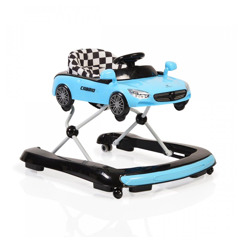 moni-trade Walker 2 en 1 Cangaroo Cabrio Bleu