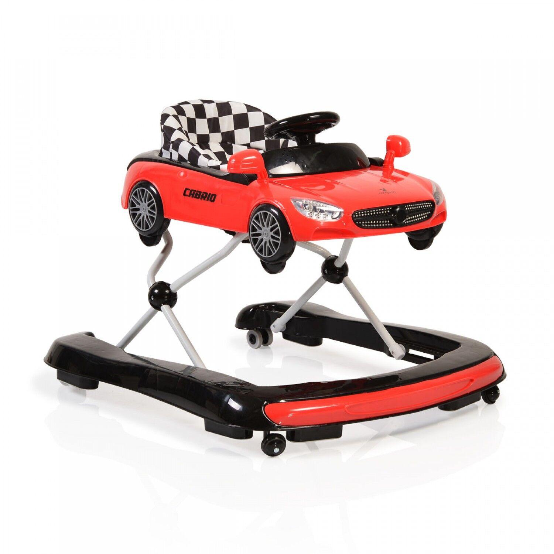 moni-trade Walker 2 en 1 Cangaroo Cabrio Rouge
