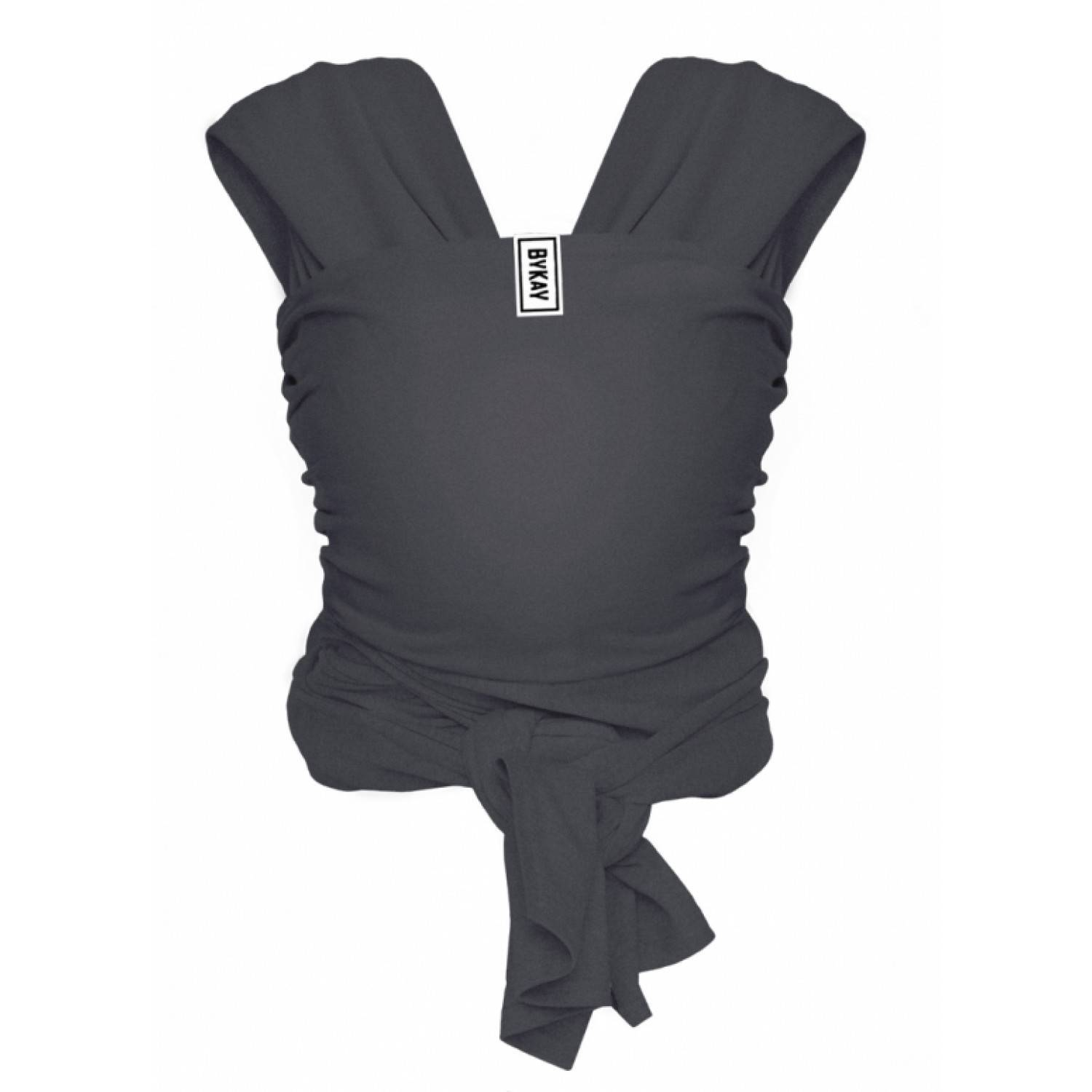 Bykay Écharpe de portage Gris Anthracite Taille M - Bykay