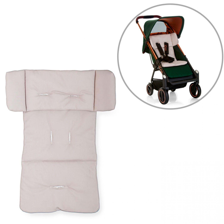 iCoo Matelas et coussin ICoo Seatpad pour poussette Acrobat Beige