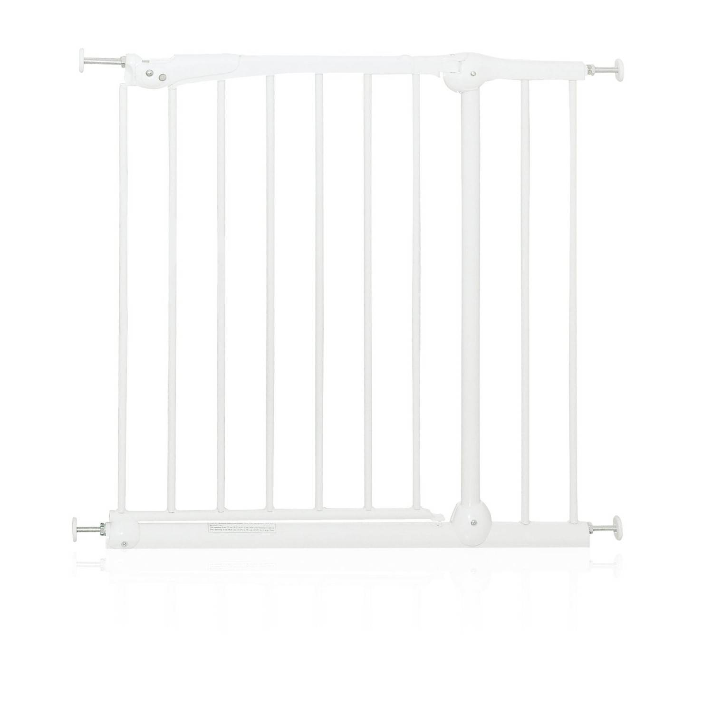 Brevi La Barrière De Sécurité De Porte 75-79 Cm Protection De Porte Blanc
