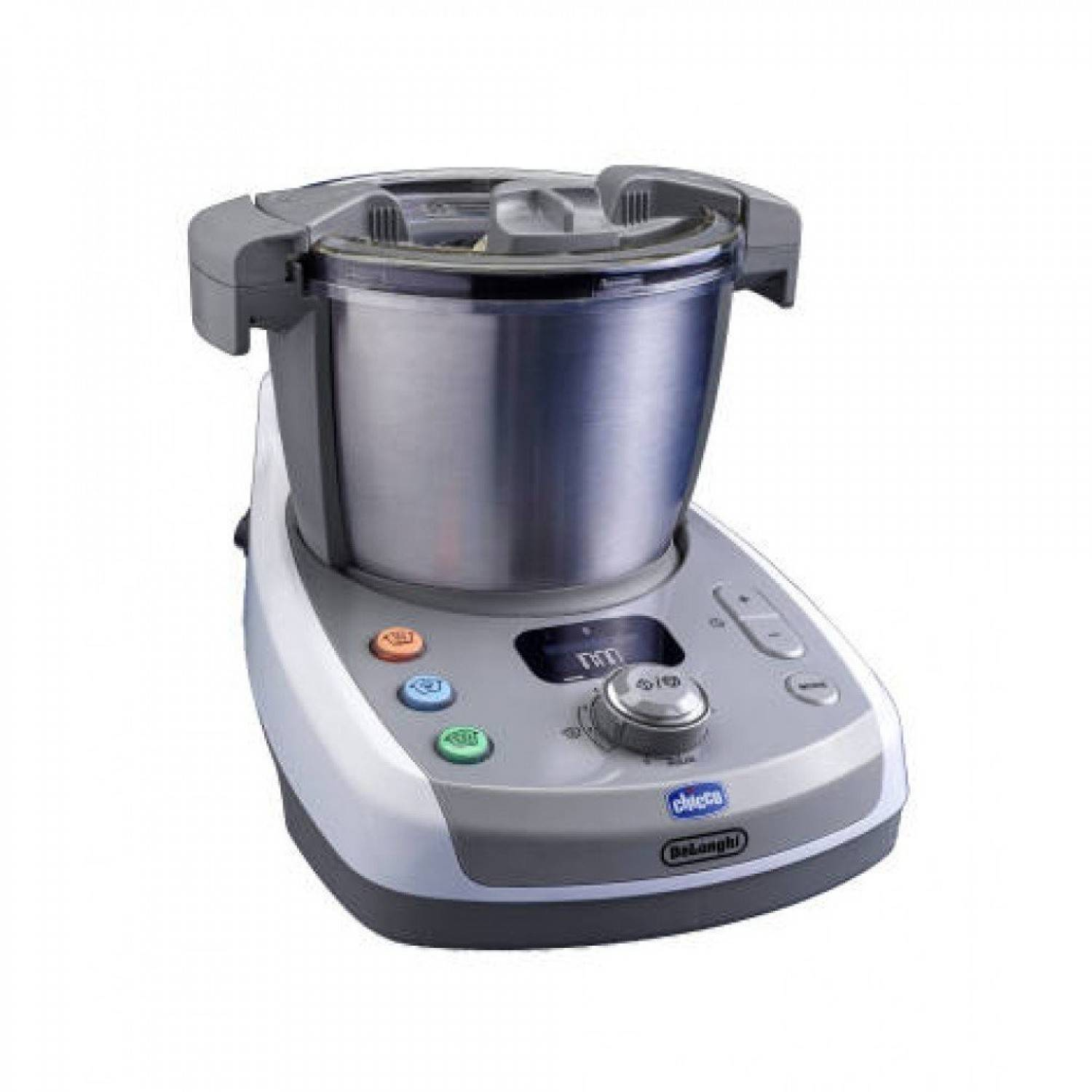 Chicco Robot Cuiseur Mixeur Multifonction Chicco Delonghi And Me Bleu