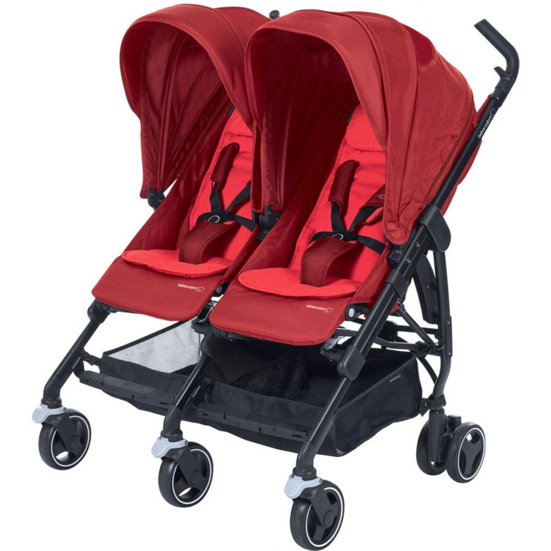 Bébé Confort Dana For2 Poussette Double Compacte Vivid Red