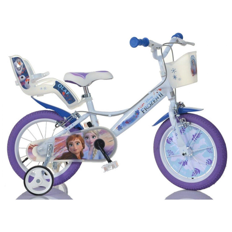 Dino Bikes Vélo Disney Frozen 2 14 pouces