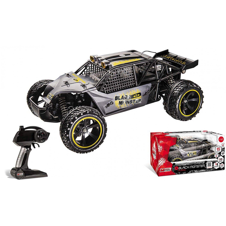 Mondo Buggy Black Monster Radiocommande Echelle 1/12 Batterie
