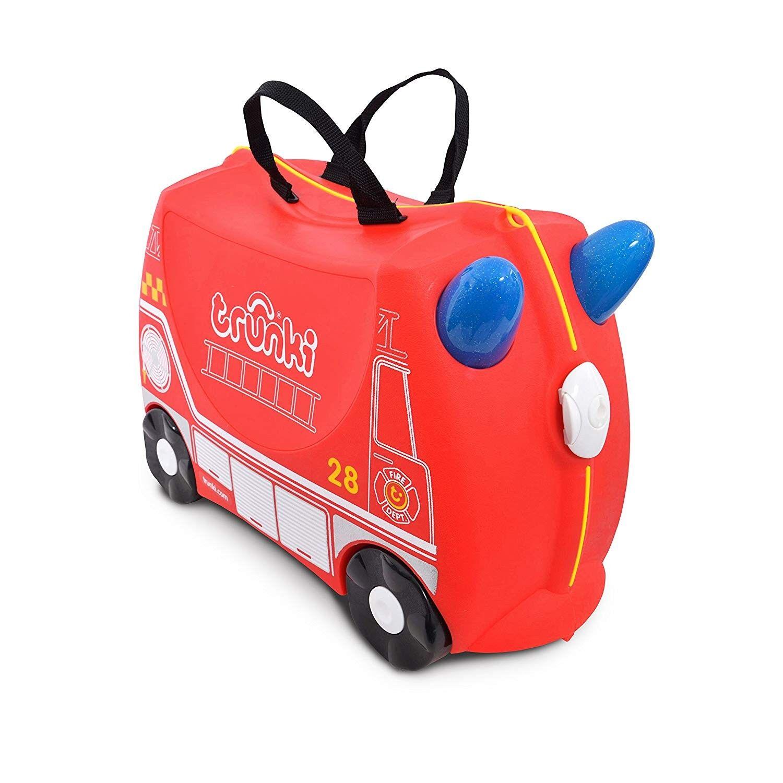 Trunki Valise Enfant à Roulette Frank le Camion de Pompier