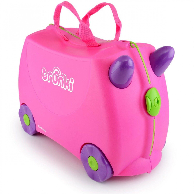 Trunki - 9220006 - Valise Pour Enfant - Ride-on - Trixie - Rose