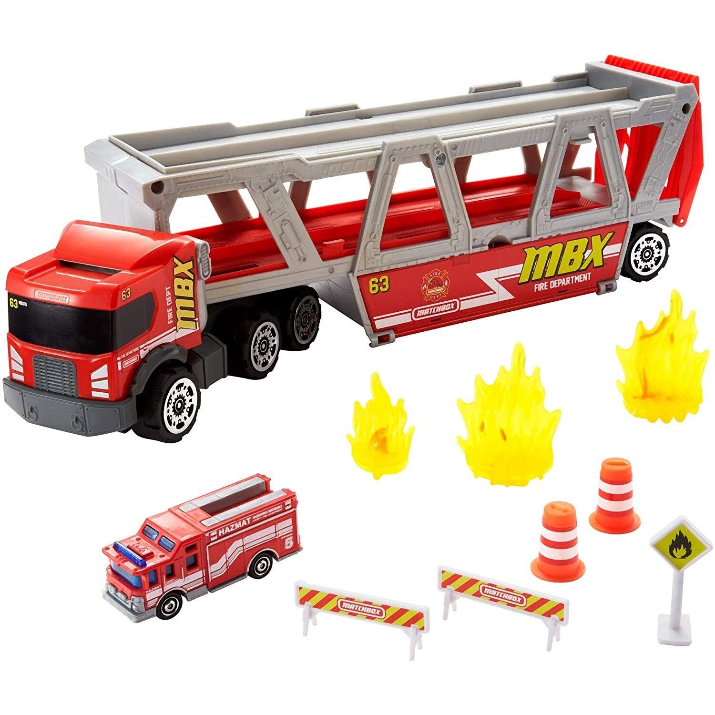Mattel Camion de pompier Mattel Matchbox