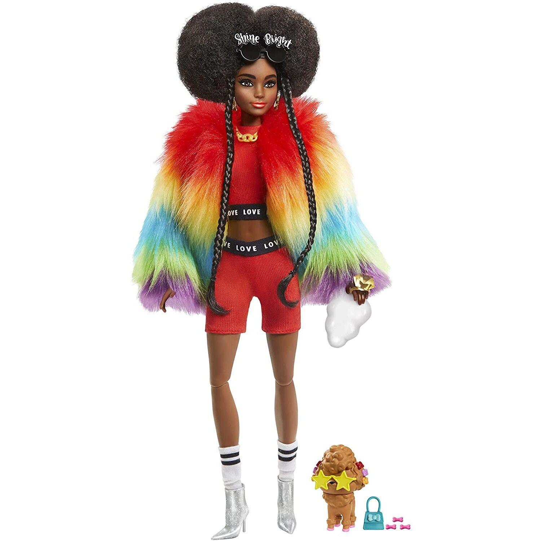 Barbie Poupée Barbie Extra No.1 avec 10 Accessoires