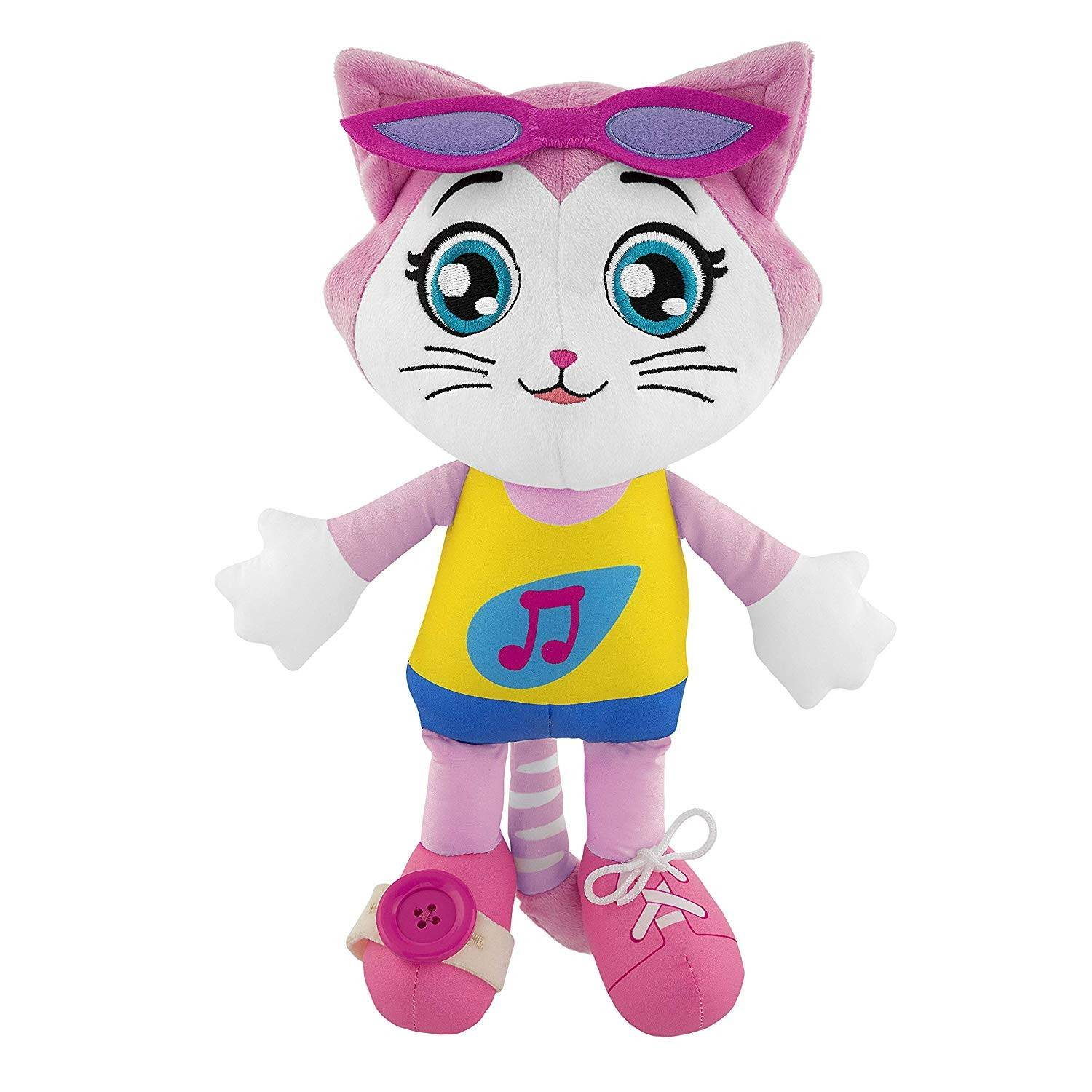 Chicco Peluche Chicco 44 Chats Milady Marionnette Musicale