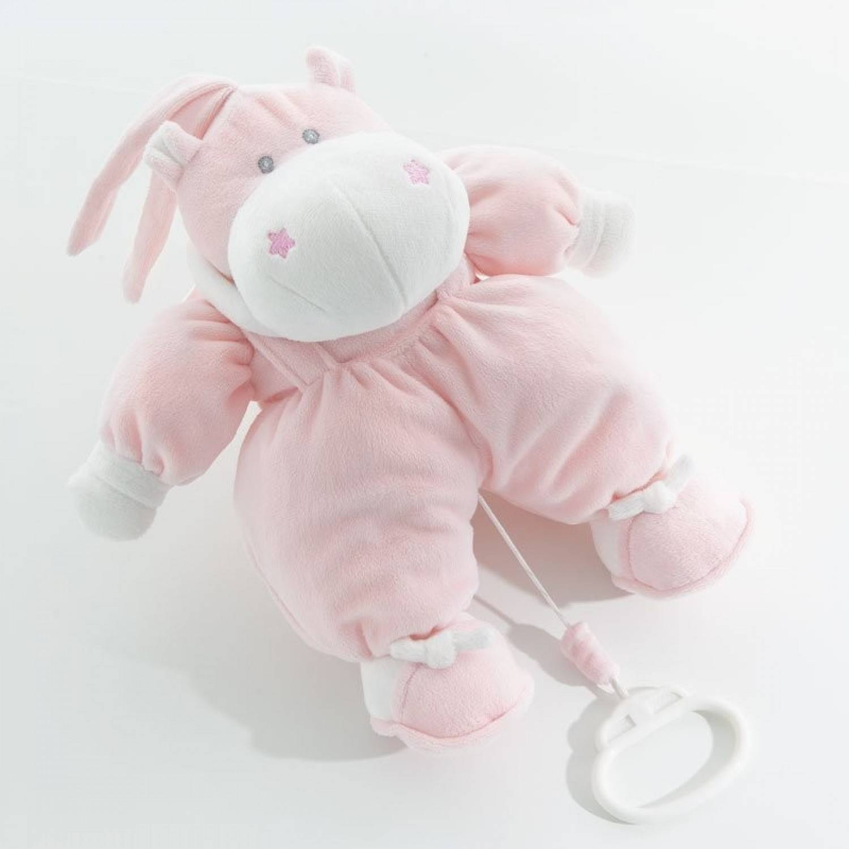 Nanan Boîte à musique pour lit bébé Nanan Bombo Pink