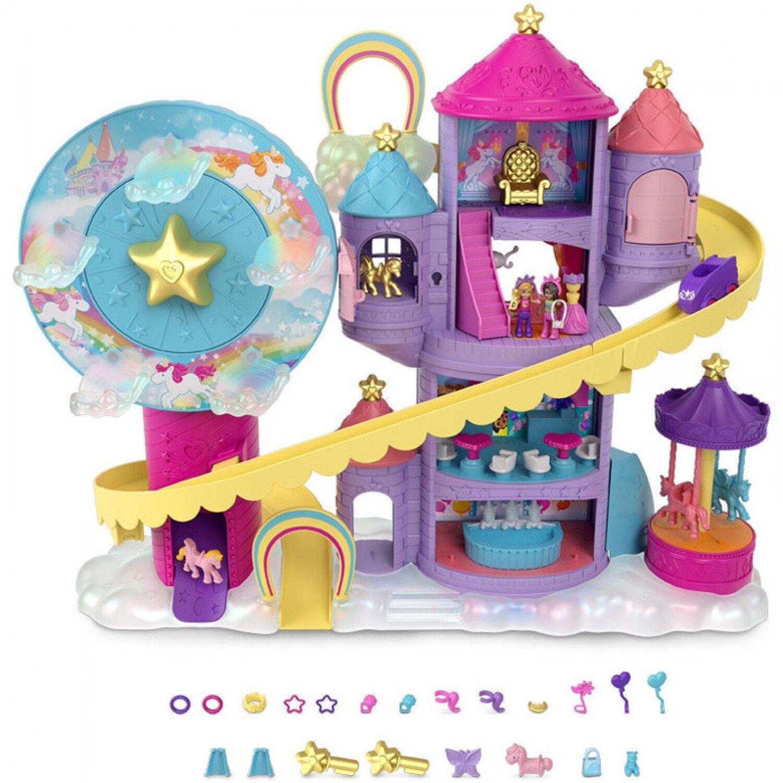 Mattel Ensemble de jeu Mattel Polly Pocket Rainbow Lunapark