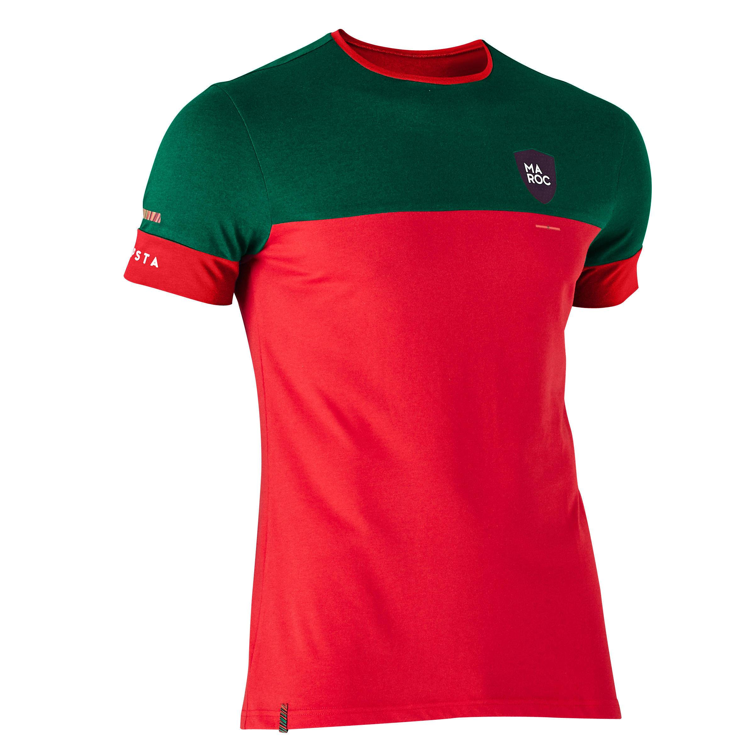 Kipsta T-shirt de football adulte FF100 Maroc - Kipsta