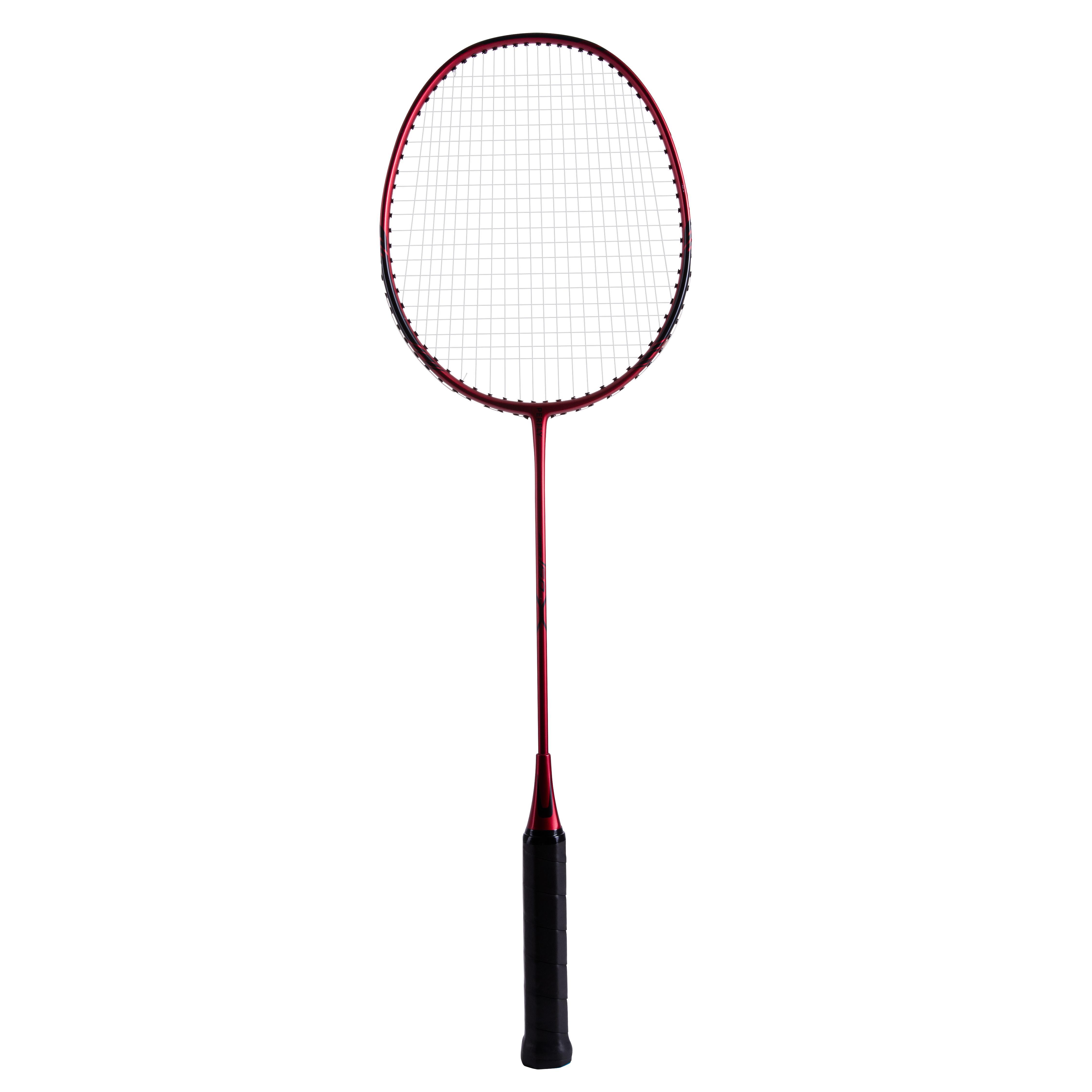 Perfly Raquette De Badminton Adulte BR 160 - Rouge Foncé - Perfly