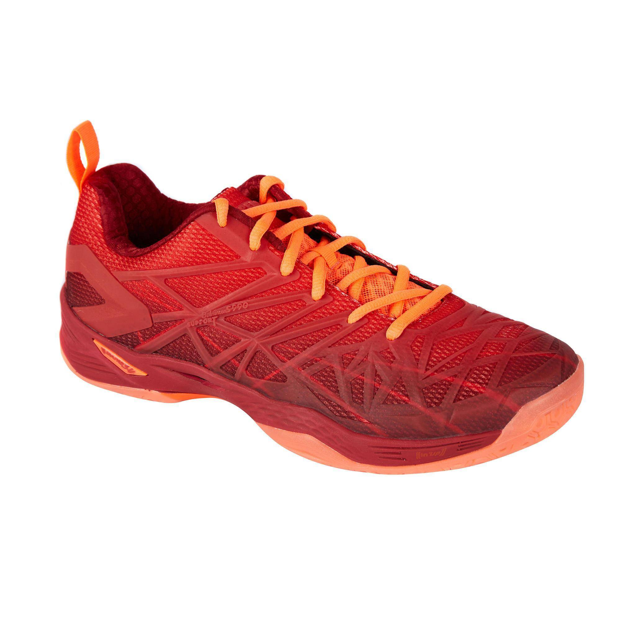 Perfly Chaussures De Badminton Sports Indoor Homme BS 990 - Rouge - Perfly
