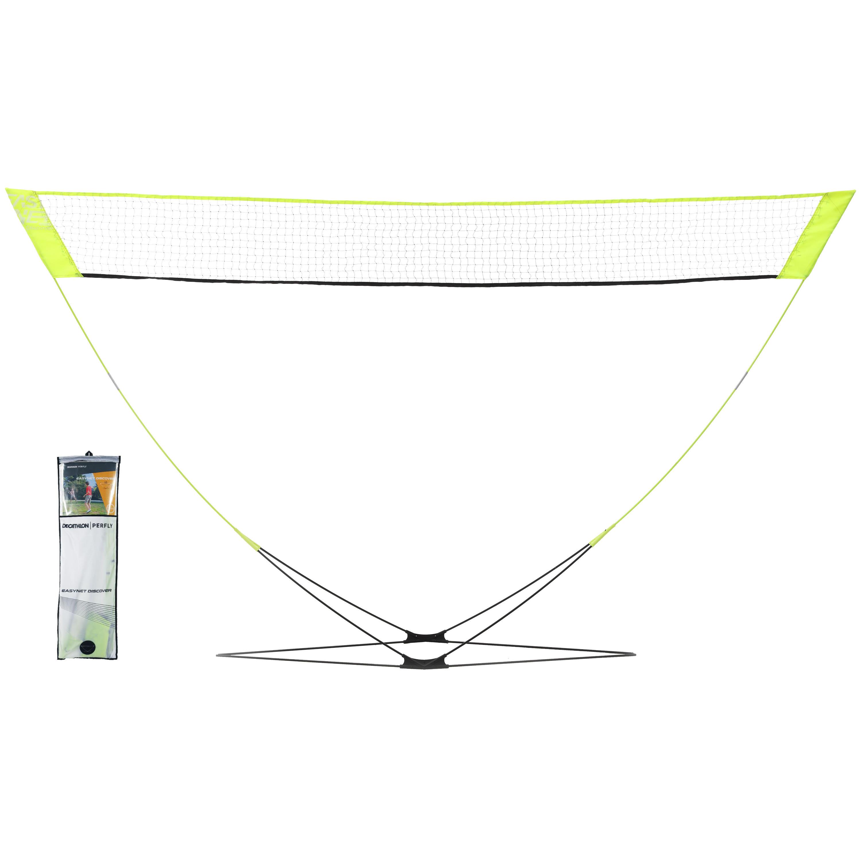 Perfly Filet De Badminton Easy Net Discover - Jaune - Perfly