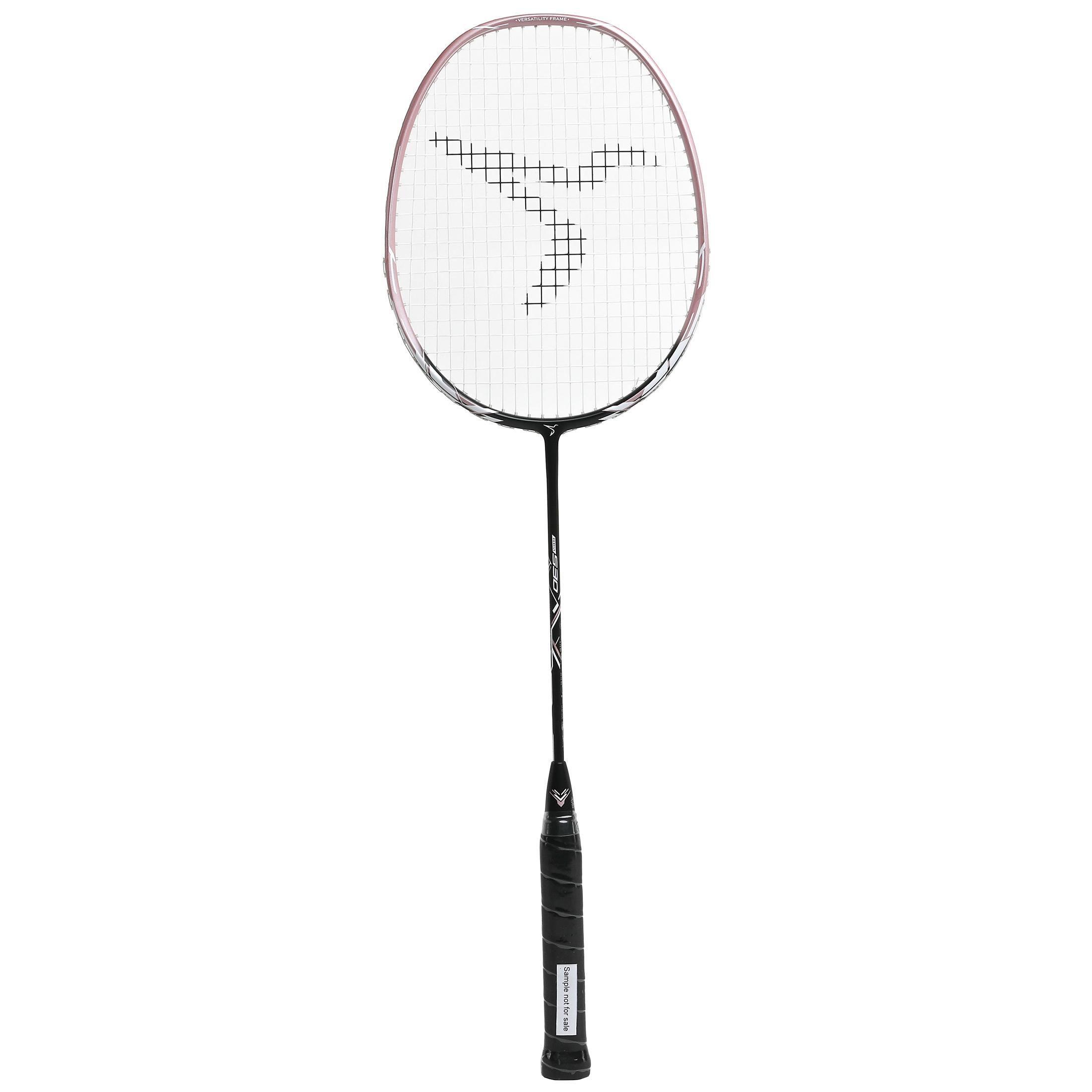 Perfly Raquette De Badminton Adulte BR 530 - Rose - Perfly