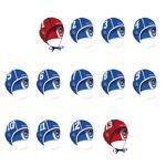 Watko Lot de 13 bonnets water polo adulte bleu - Watko Conçus pour les... par LeGuide.com Publicité