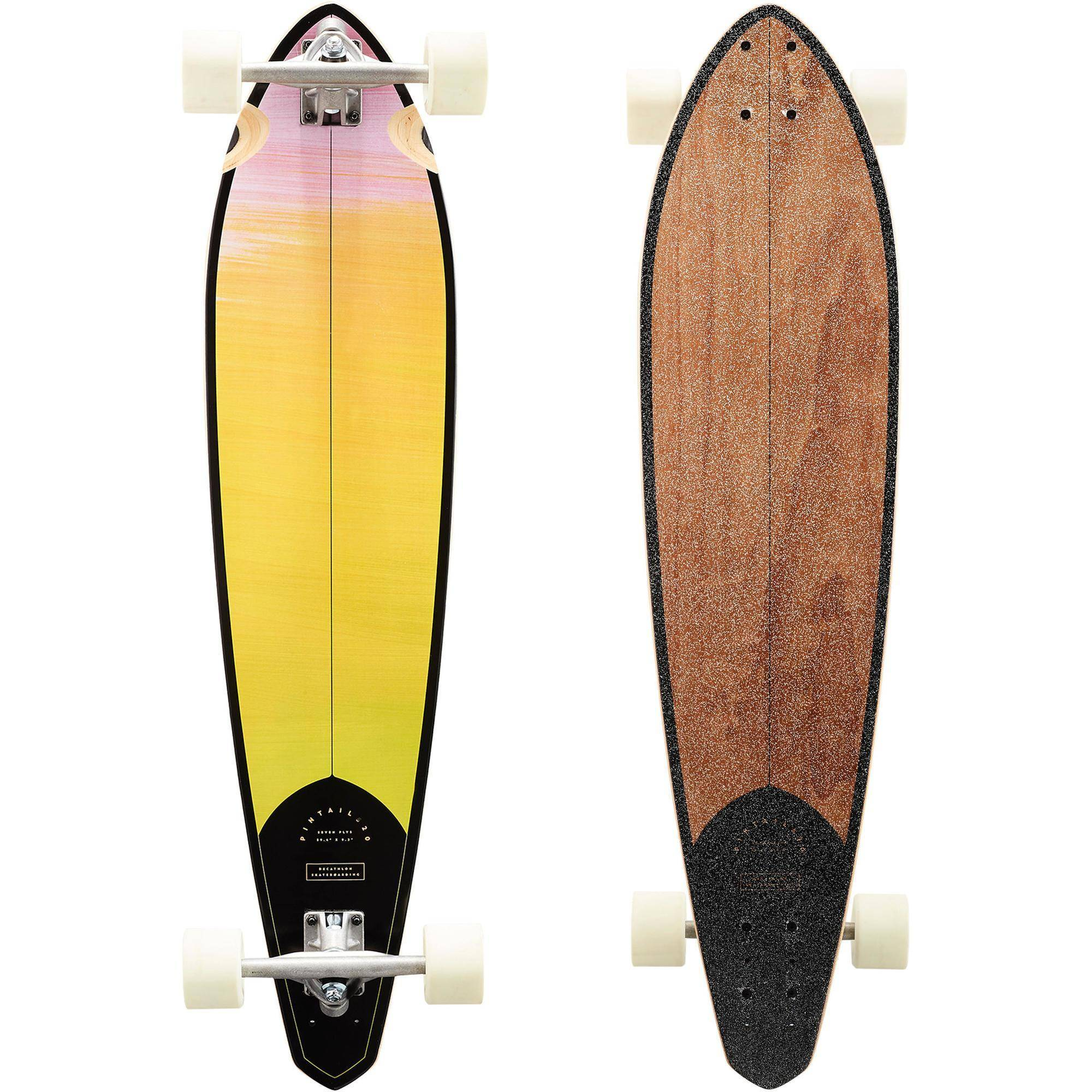 OXELO LONGBOARD PINTAIL 520 GRADIANT - OXELO - SANS TAILLE
