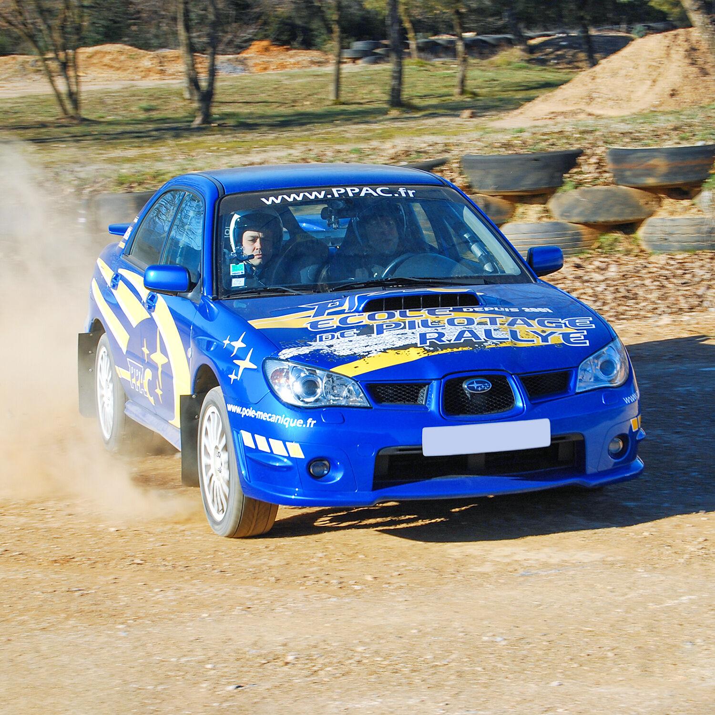 Smartbox Stage pilotage rallye à couper le souffle sur circuit terre en Subaru Impreza WRX Coffret cadeau Smartbox