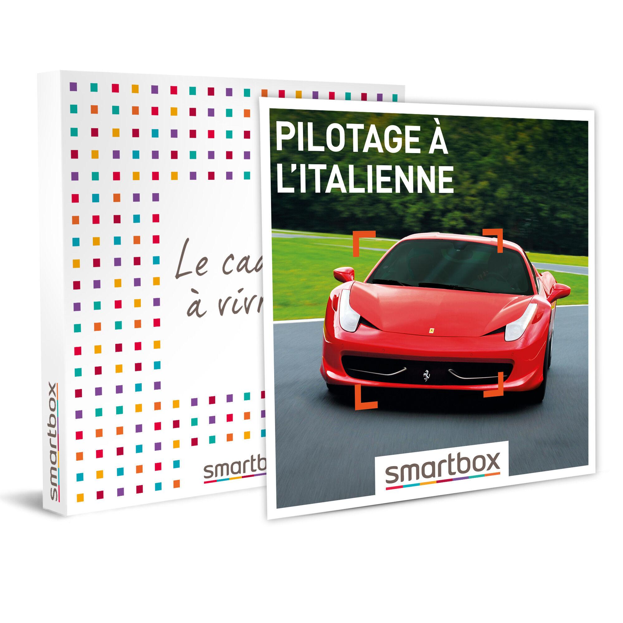 Smartbox Pilotage à l'italienne Coffret cadeau Smartbox