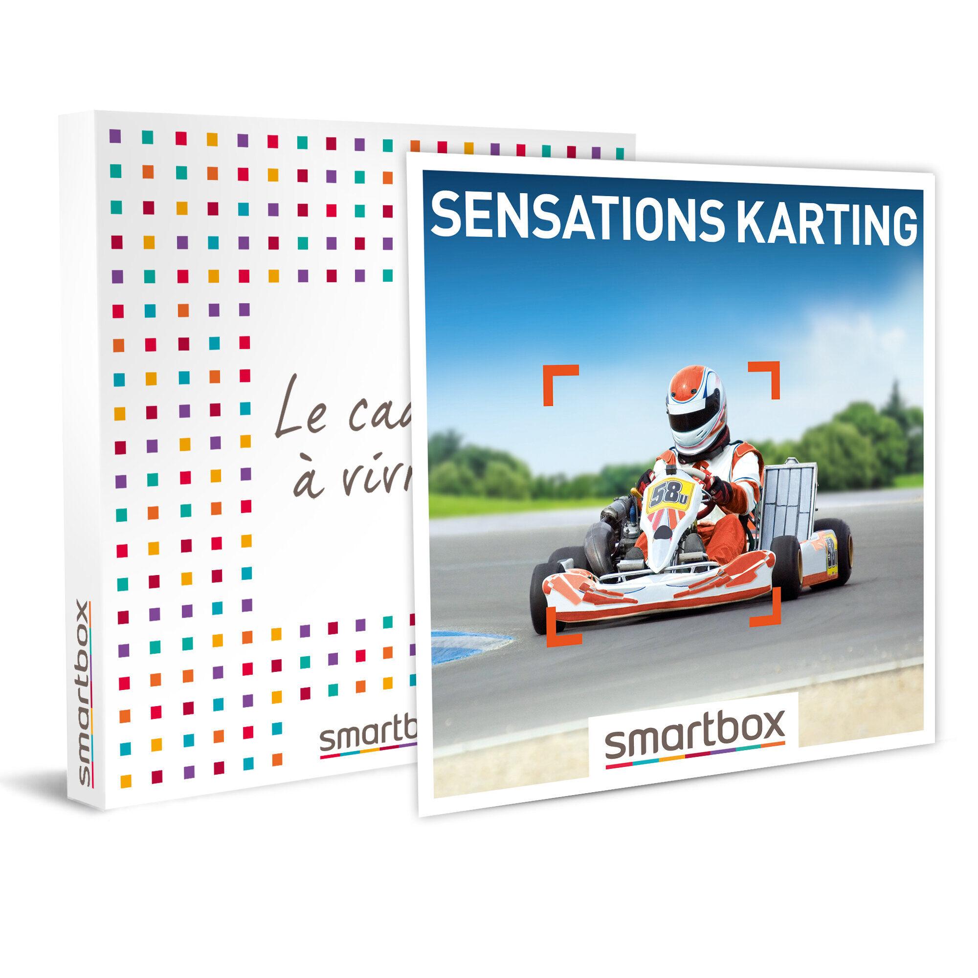 Smartbox Sensations karting Coffret cadeau Smartbox