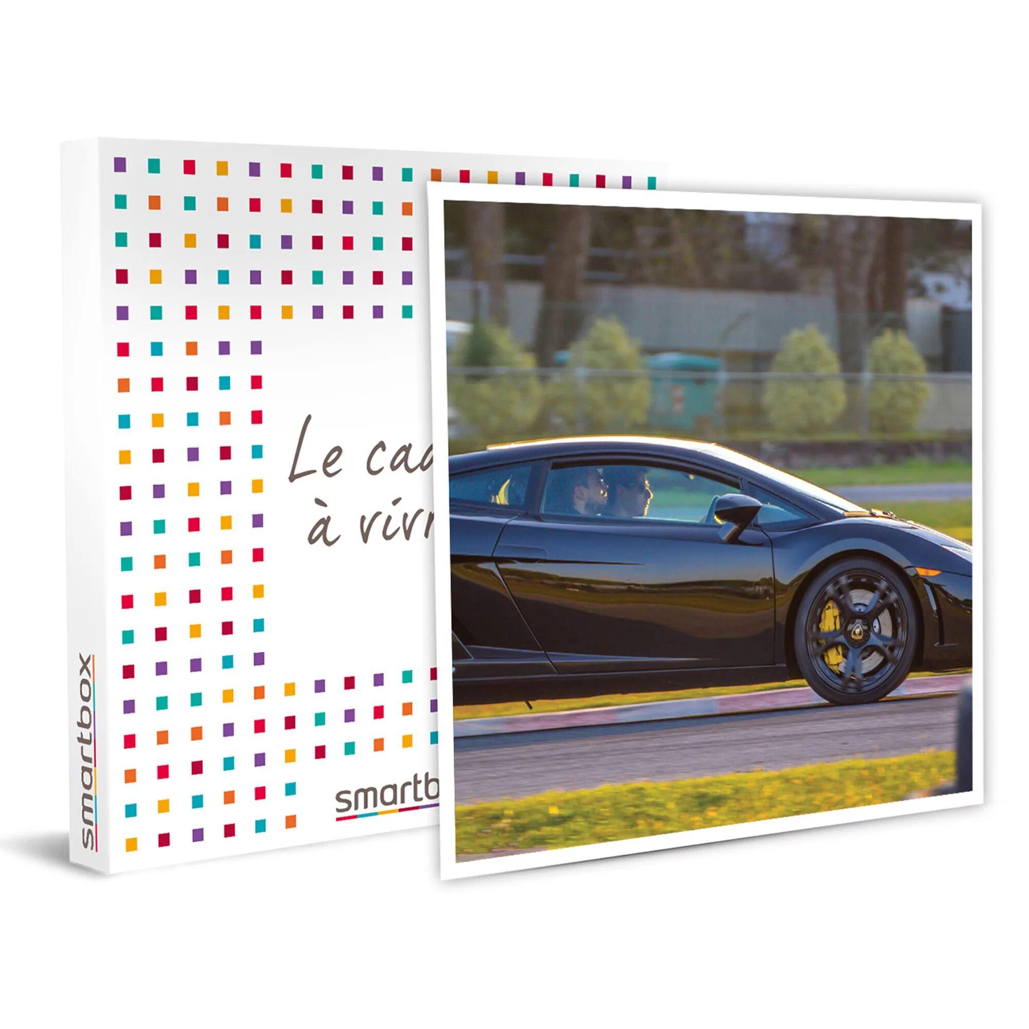 Smartbox Pilotage sur circuit : jusqu'à 4 tours au volant d'une Lamborghini Coffret cadeau Smartbox