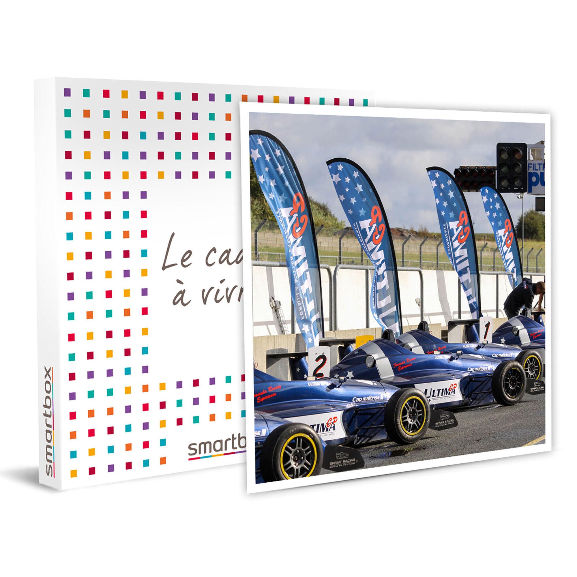 Smartbox Session de pilotage au volant d'une Formule Renault pour 1 personne Coffret cadeau Smartbox